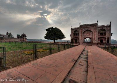 Gate on Yamuna