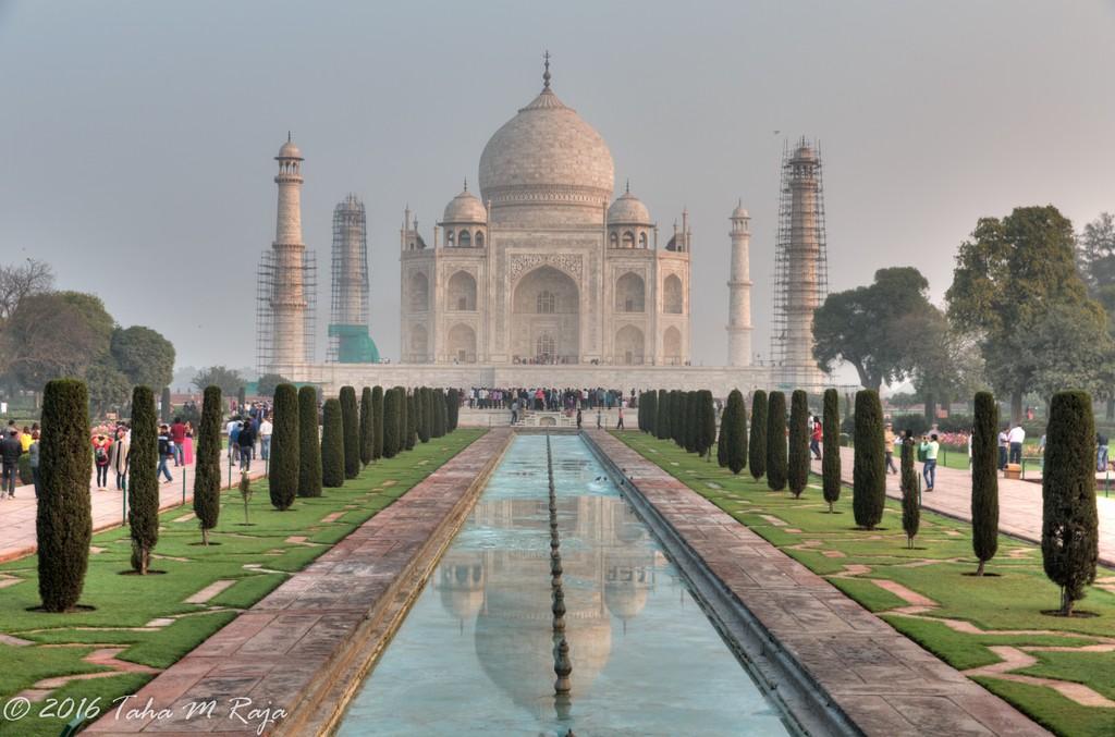 India Taj Mahal and Agra 2016