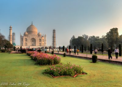 Gardens at Taj