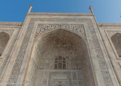 Entrance of Taj