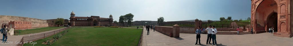 Panorama Red Fort