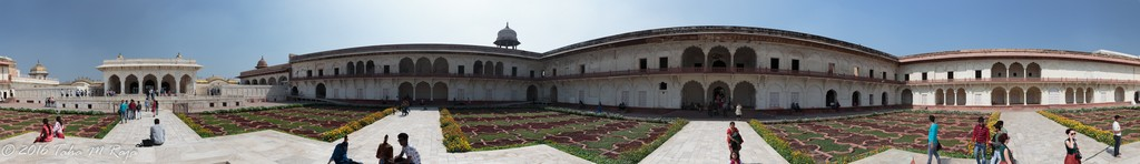 Courtyard of Agra Fort